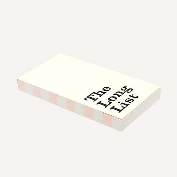 Large Notepad, The Long List - Readymade Objects Shop - 2