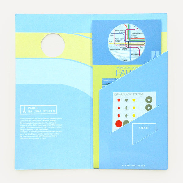 Railway City Map, Paris - Readymade Objects Shop - 2