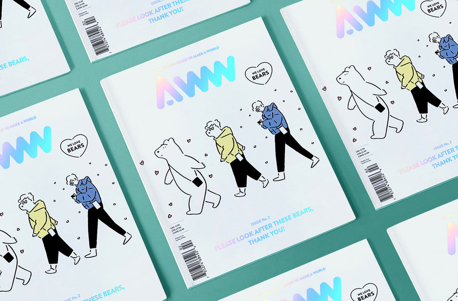 AWW Vol.2 Please Look After These Bears, Thank You! (Shipping Included)