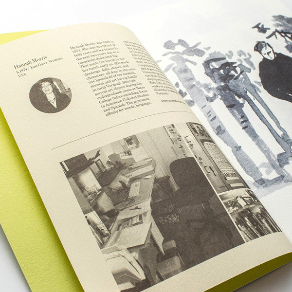 RMM Artbooks No.05 — The Story Unfolding, by Hannah Morris (USA) - Readymade Objects Shop - 3
