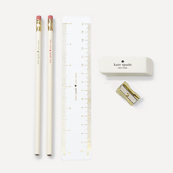 Pencil Pouch with stationery — Literary Glasses - Readymade Objects Shop - 3