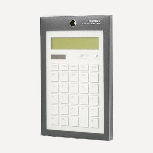 Calculator 12DD, Red - Readymade Objects Shop - 3