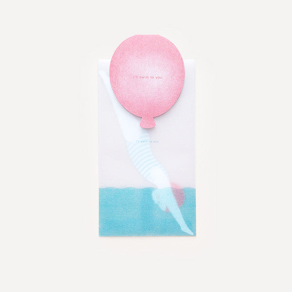 Swim Balloon, Mobile Card - Readymade Objects Shop - 2
