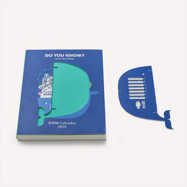 RMM Calendar 2014, Do you know? by Mr. Blue Whale - Readymade Objects Shop - 3