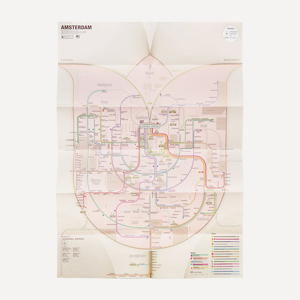 Railway City Map, Amsterdam - Readymade Objects Shop - 3