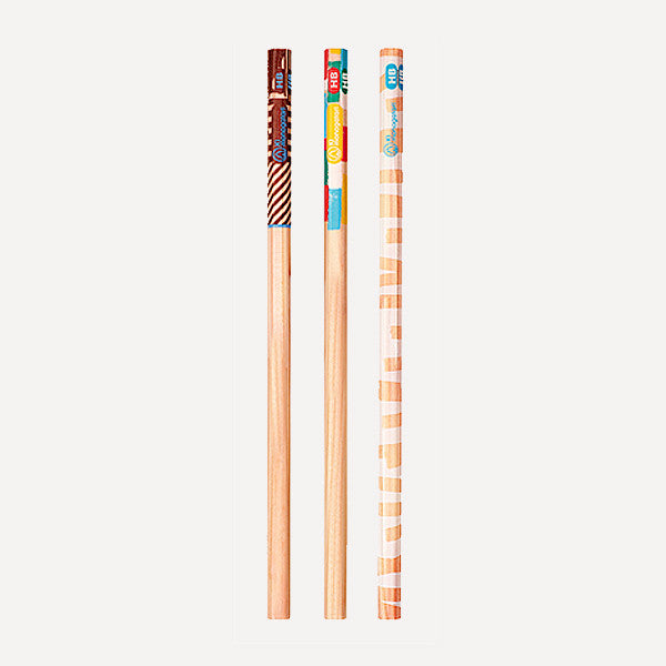 TOMBOW Kimonogatari Recycled Pencils, HB, 12 pcs / set - Readymade Objects Shop - 2