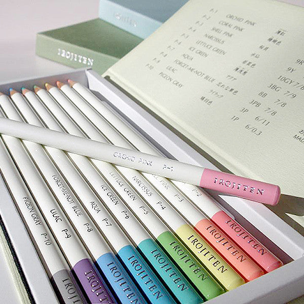 TOMBOW IROJITEN Color pencils set CI-RTA , Rainforest collection, 30 pcs / set - Readymade Objects Shop - 5
