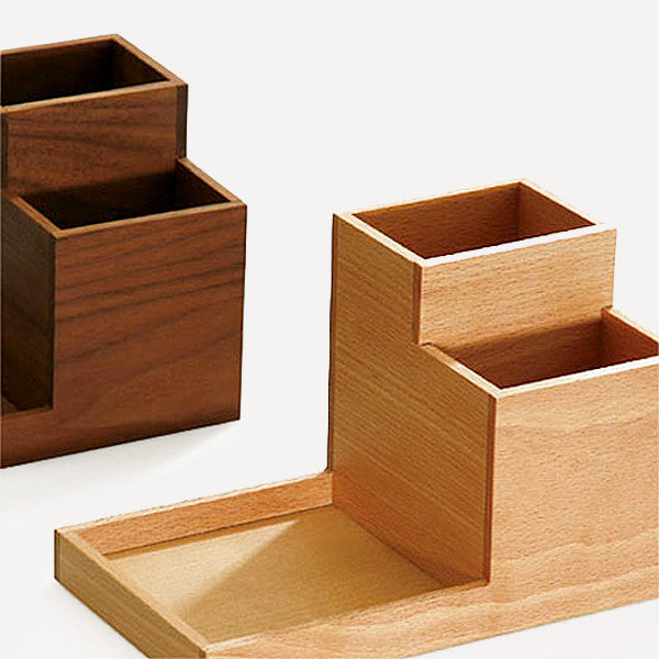 BUTLER Pen Stand, Japanese Ash wood - Readymade Objects Shop - 3