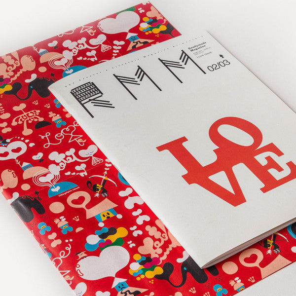 RMM Magazine, Vol.03, Love Issue - Readymade Objects Shop - 4