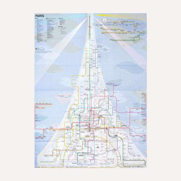 Railway City Map, Paris - Readymade Objects Shop - 3