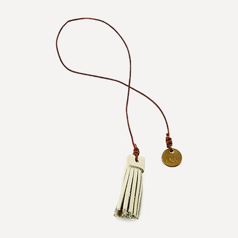 Nubuck Tassel Bookmarker - Readymade Objects Shop - 1