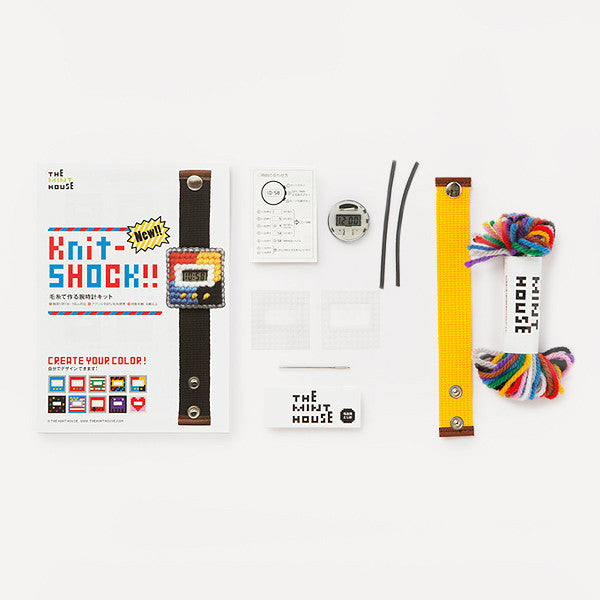 Knit-SHOCK!! (DIY kit) - Readymade Objects Shop - 2