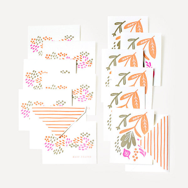 Couture Collection (Seed & Floral Cards Set, 12 pcs / set) - Readymade Objects Shop - 2