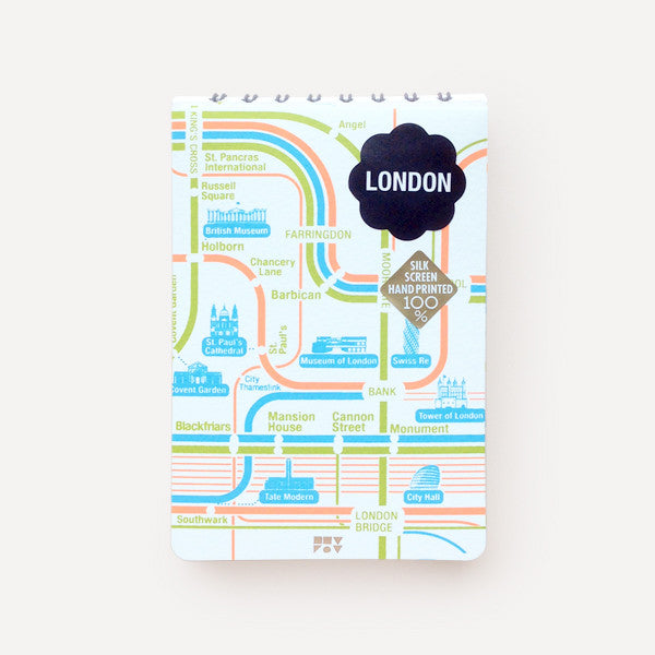 Pocket Map and Notepad, London - Readymade Objects Shop - 1
