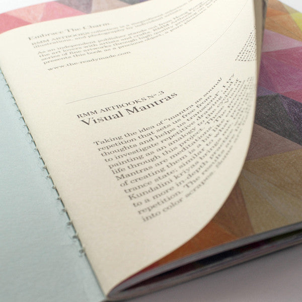 RMM Artbooks No.03 — Visual Mantras, by Ana Montiel (Spain) - Readymade Objects Shop - 2