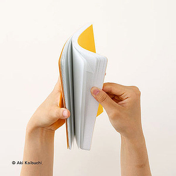 HUM Dog Ear Notebook, S Size, Yellow Color - Readymade Objects Shop - 4