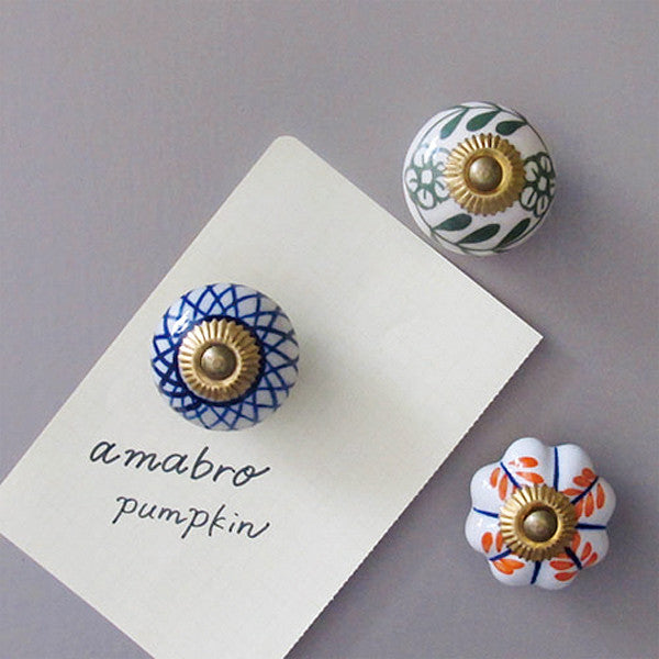 PUMPKIN MAGNET — D - Readymade Objects Shop - 4