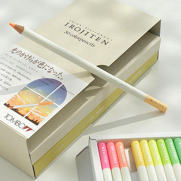 TOMBOW IROJITEN Color pencils set CI-RTC, Woodlands collection, 30 pcs / set - Readymade Objects Shop - 5