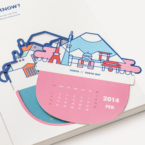 RMM Calendar 2014, Do you know? by Mr. Blue Whale - Readymade Objects Shop - 4