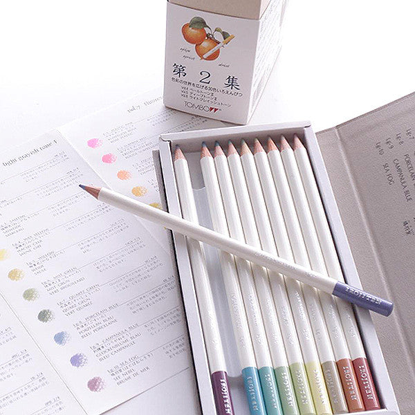 TOMBOW IROJITEN Color pencils set CI-RTB , Seascape collection, 30 pcs / set - Readymade Objects Shop - 4