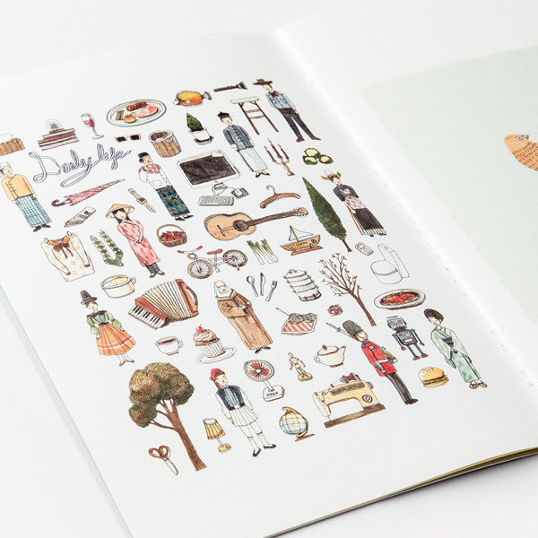 RMM Artbooks No.06 — Inspire, Daily Life and Portrait, by Suntur (Thailand) - Readymade Objects Shop - 5