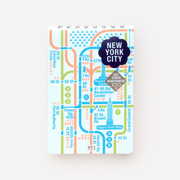 Pocket Map and Notepad, New York City - Readymade Objects Shop - 1