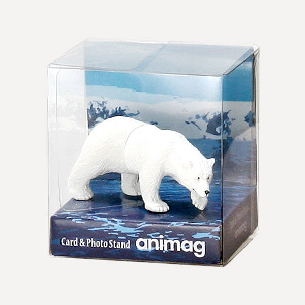 Animag Card Stand, Polar Bear - Readymade Objects Shop - 3