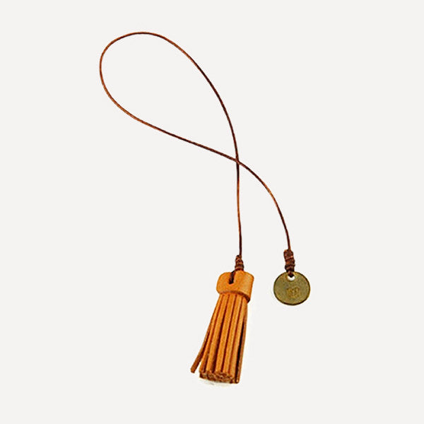 Nubuck Tassel Bookmarker - Readymade Objects Shop - 2