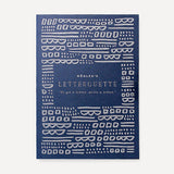 Letterquette, Morse Code (12 pcs / set) - Readymade Objects Shop - 2