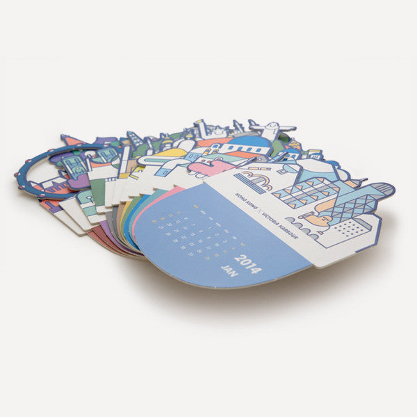 RMM Calendar 2014, Do you know? by Mr. Blue Whale - Readymade Objects Shop - 5