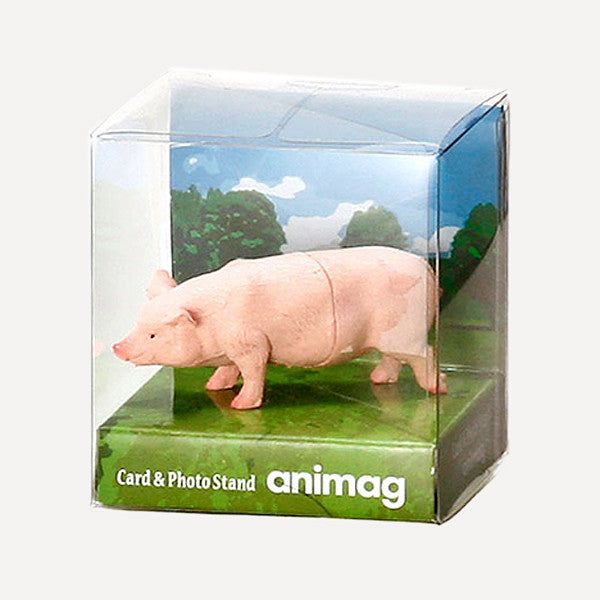 Animag Card Stand, Pig - Readymade Objects Shop - 3