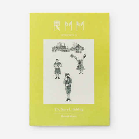 RMM Artbooks No.05 — The Story Unfolding, by Hannah Morris (USA) - Readymade Objects Shop - 1