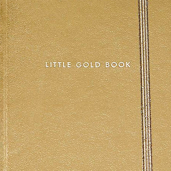 Take Note Medium Notebook, Gold - Readymade Objects Shop - 5
