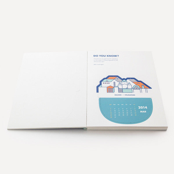 RMM Calendar 2014, Do you know? by Mr. Blue Whale - Readymade Objects Shop - 6