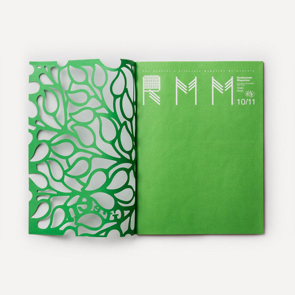RMM Magazine, Vol.07, Green Issue - Readymade Objects Shop - 2