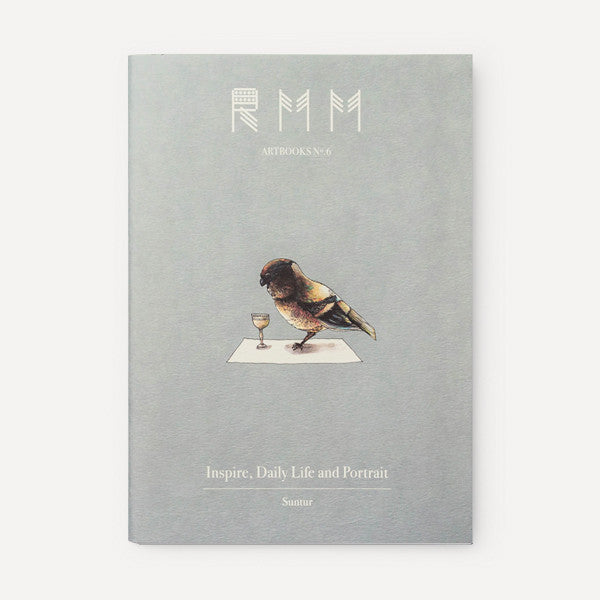 RMM Artbooks No.06 — Inspire, Daily Life and Portrait, by Suntur (Thailand) - Readymade Objects Shop - 1