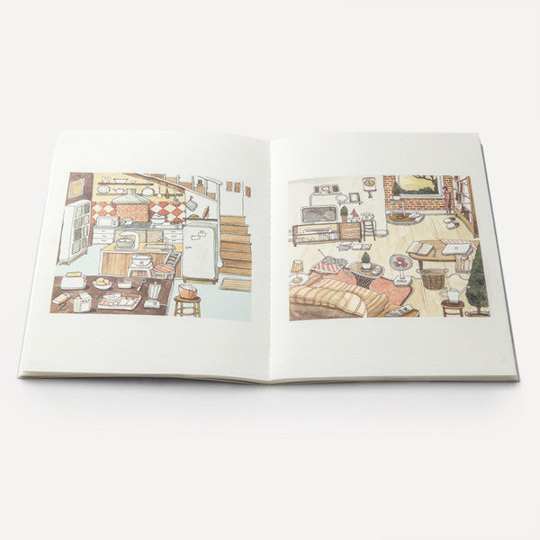 RMM Artbooks No.06 — Inspire, Daily Life and Portrait, by Suntur (Thailand) - Readymade Objects Shop - 6