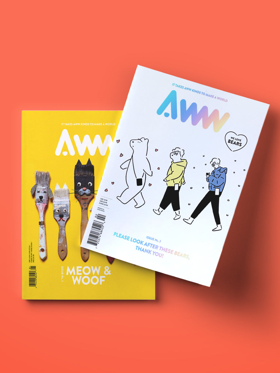 AWW Bundle Vol. 1 & Vol. 2 (Shipping Included)