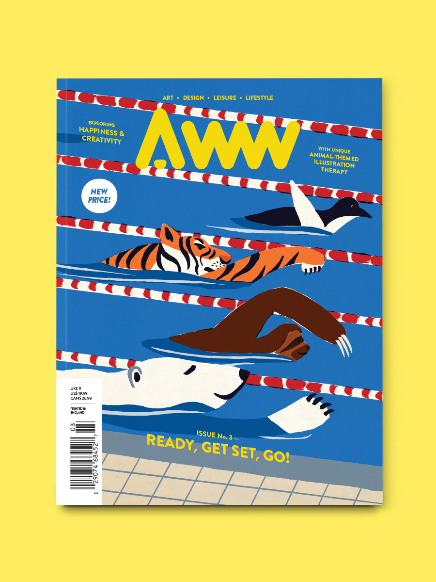 AWW Vol. 3 Ready, Get Set, Go! (Shipping Included)