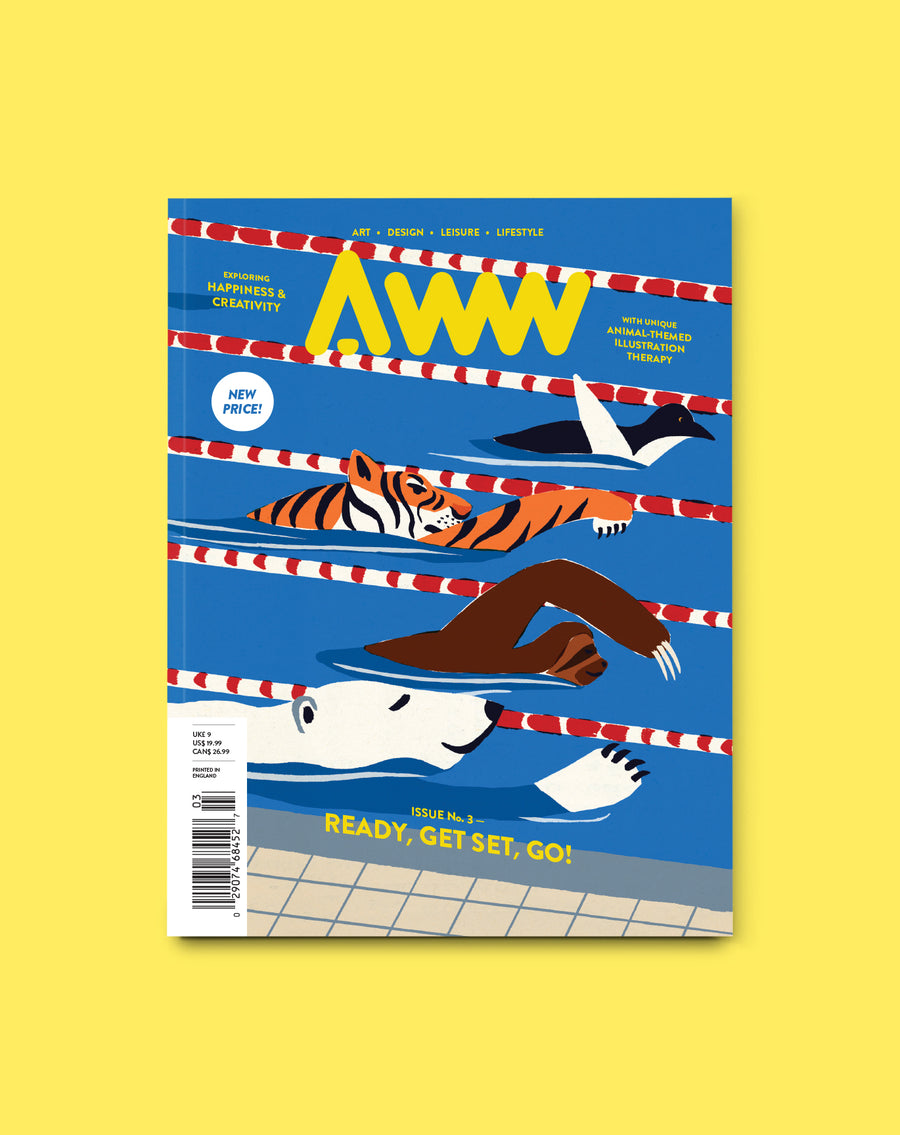 AWW Magazine 1-Year Subscription (4 Issues, Shipping Included)