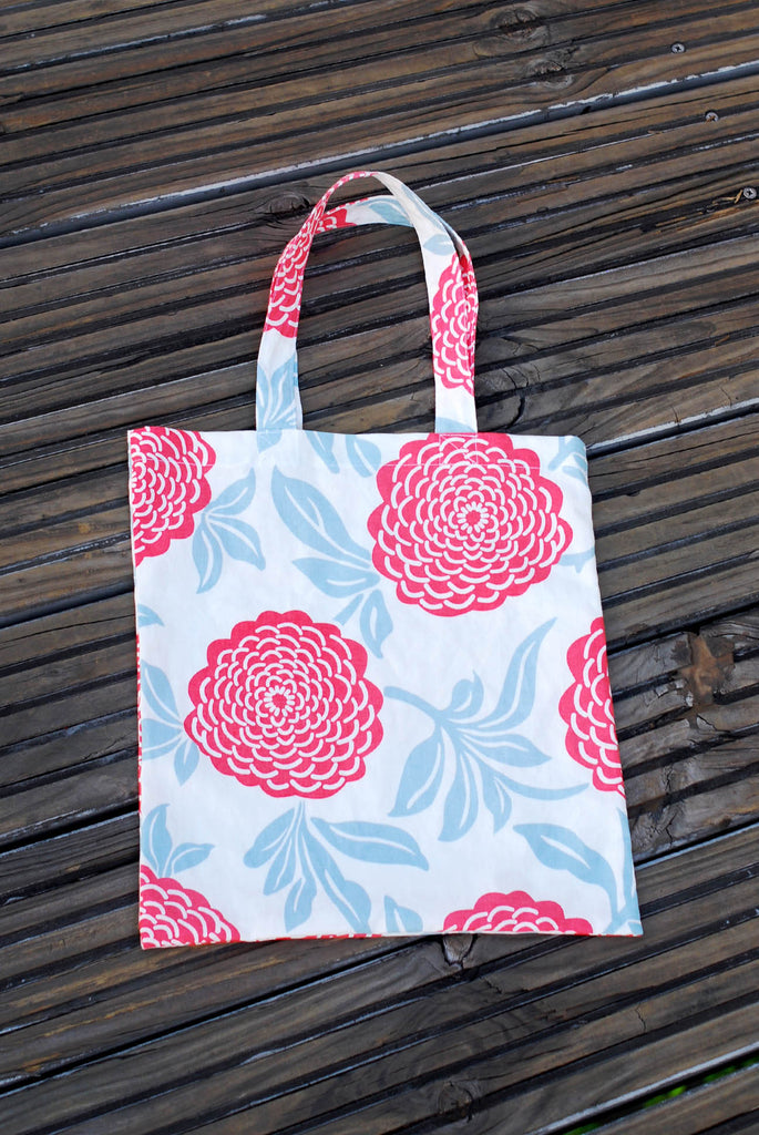 Red Peony Tote Bag - Readymade Objects Shop - 2