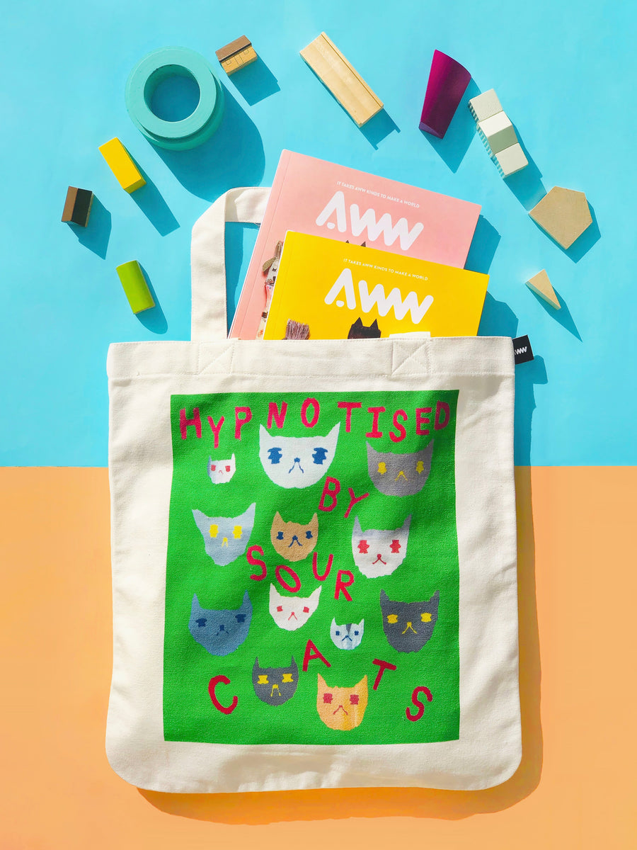 AWWsome Combo: AWW Vol.1 Cats & Dogs + AWW X An Gee Tote Bag