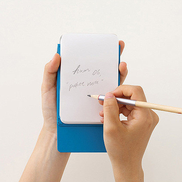 HUM Pocket Note, Blue Color - Readymade Objects Shop - 4