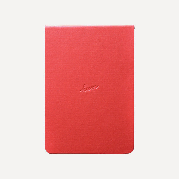 HUM Pocket Note, Red Color - Readymade Objects Shop - 1