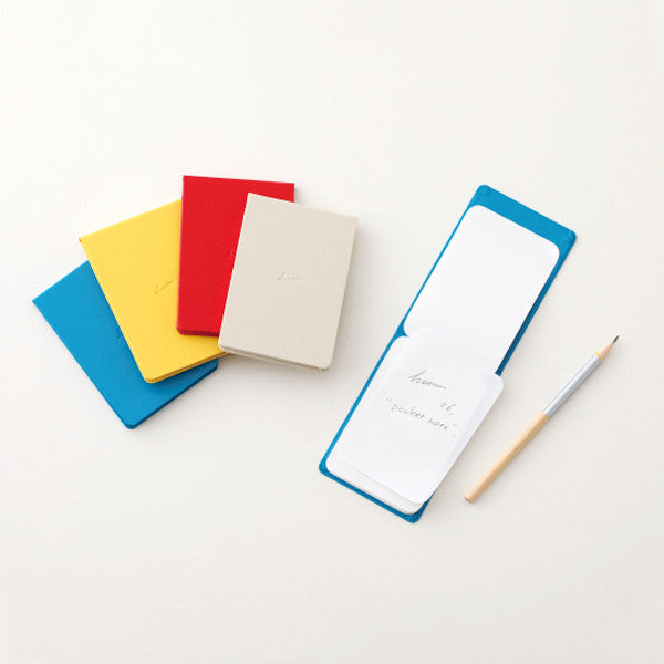 HUM Pocket Note, Blue Color - Readymade Objects Shop - 3