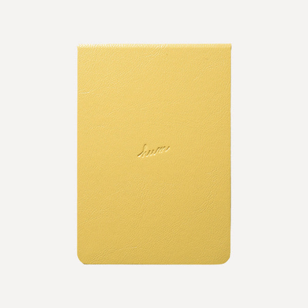HUM Pocket Note, Yellow Color - Readymade Objects Shop - 1