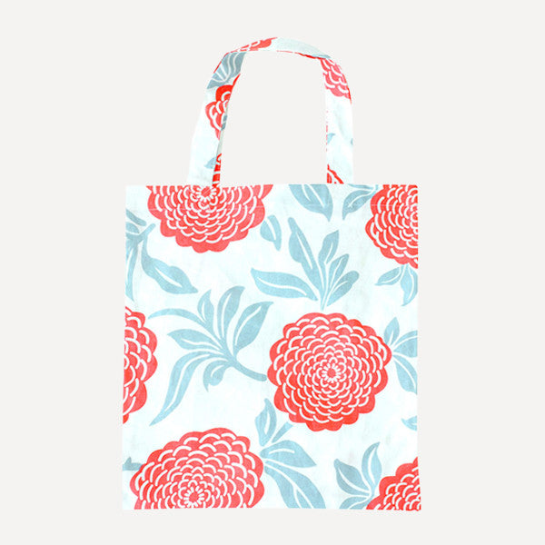 Red Peony Tote Bag - Readymade Objects Shop - 1