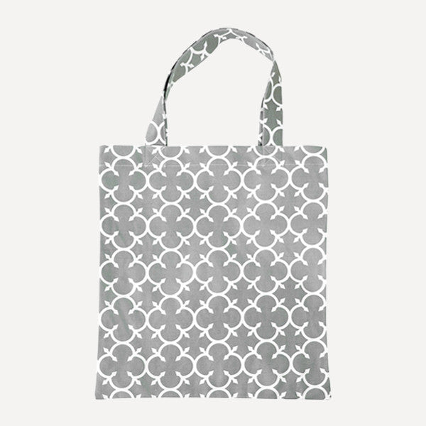 Grey Clover Tote Bag - Readymade Objects Shop - 1