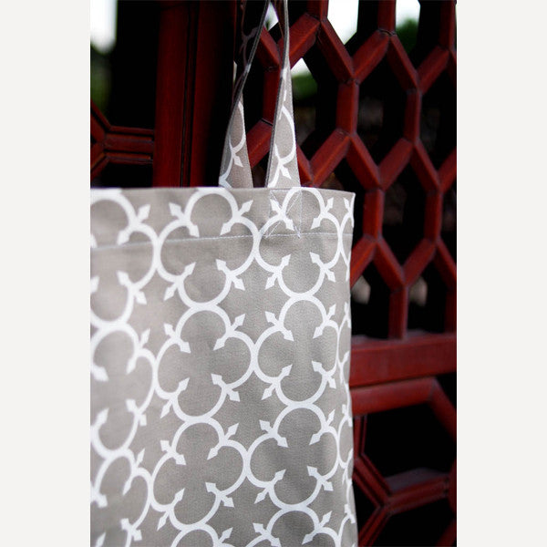 Grey Clover Tote Bag - Readymade Objects Shop - 3