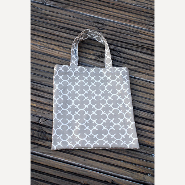 Grey Clover Tote Bag - Readymade Objects Shop - 2